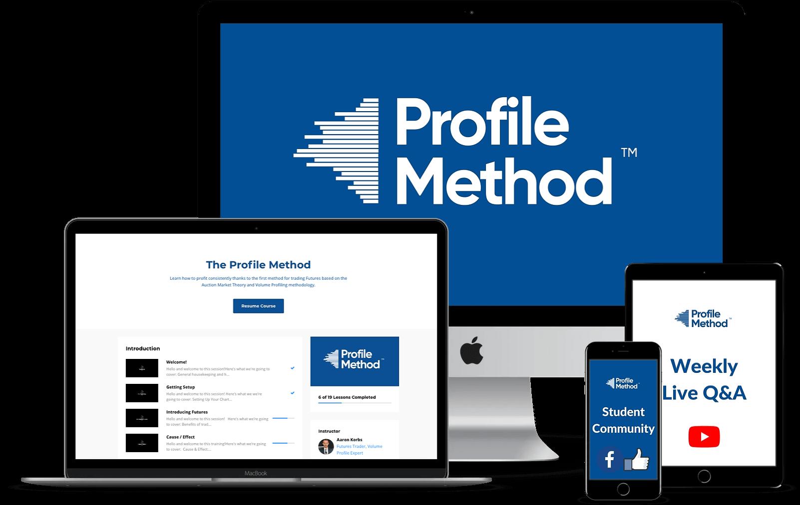 Profile Method Mockup